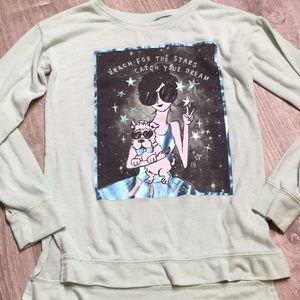 Justice long sleeve size 10